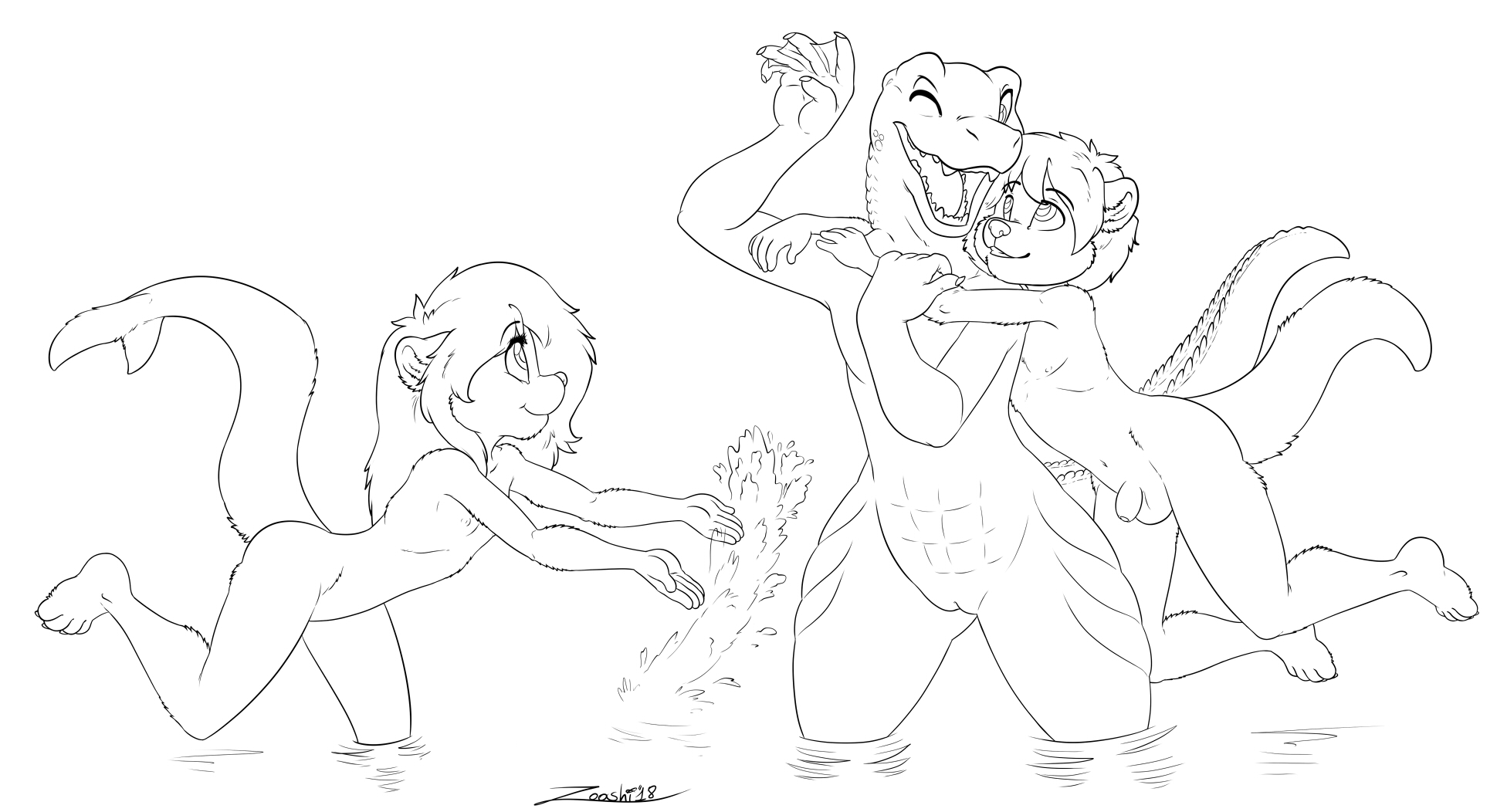 2471365_zooshi_playing_in_water-ink