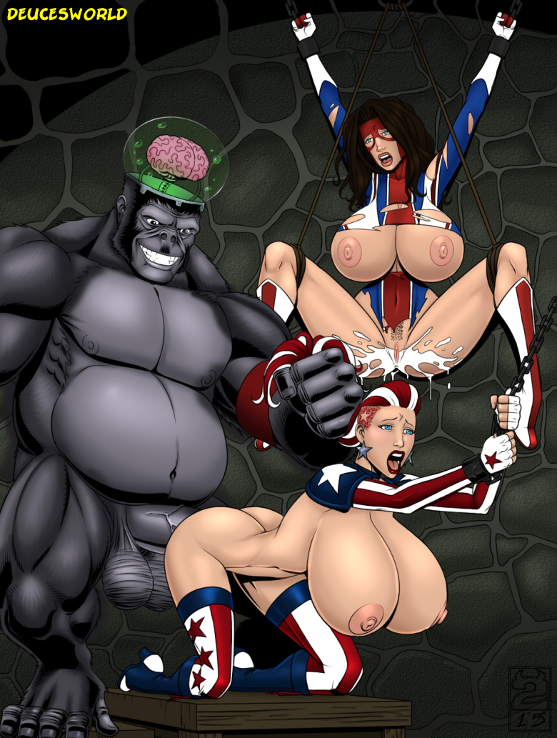 Deuce-324926-Ape_Hitler_Red_White_and_Screwed
