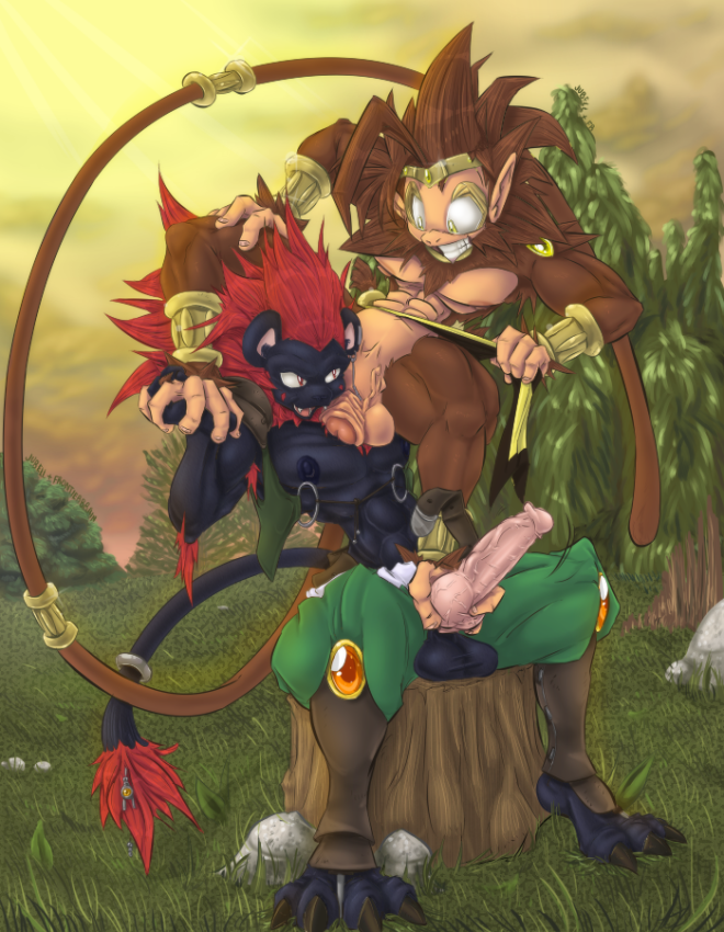 Jubell-260535-Xion_and_Monkey_King_Ink_and_Color