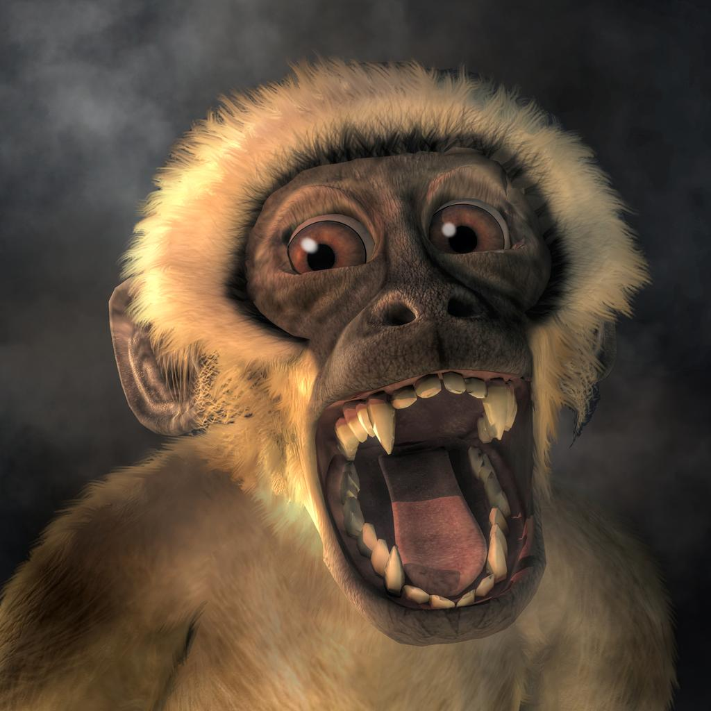screaming_monkey_by_deskridge_dbv2us6-fullview