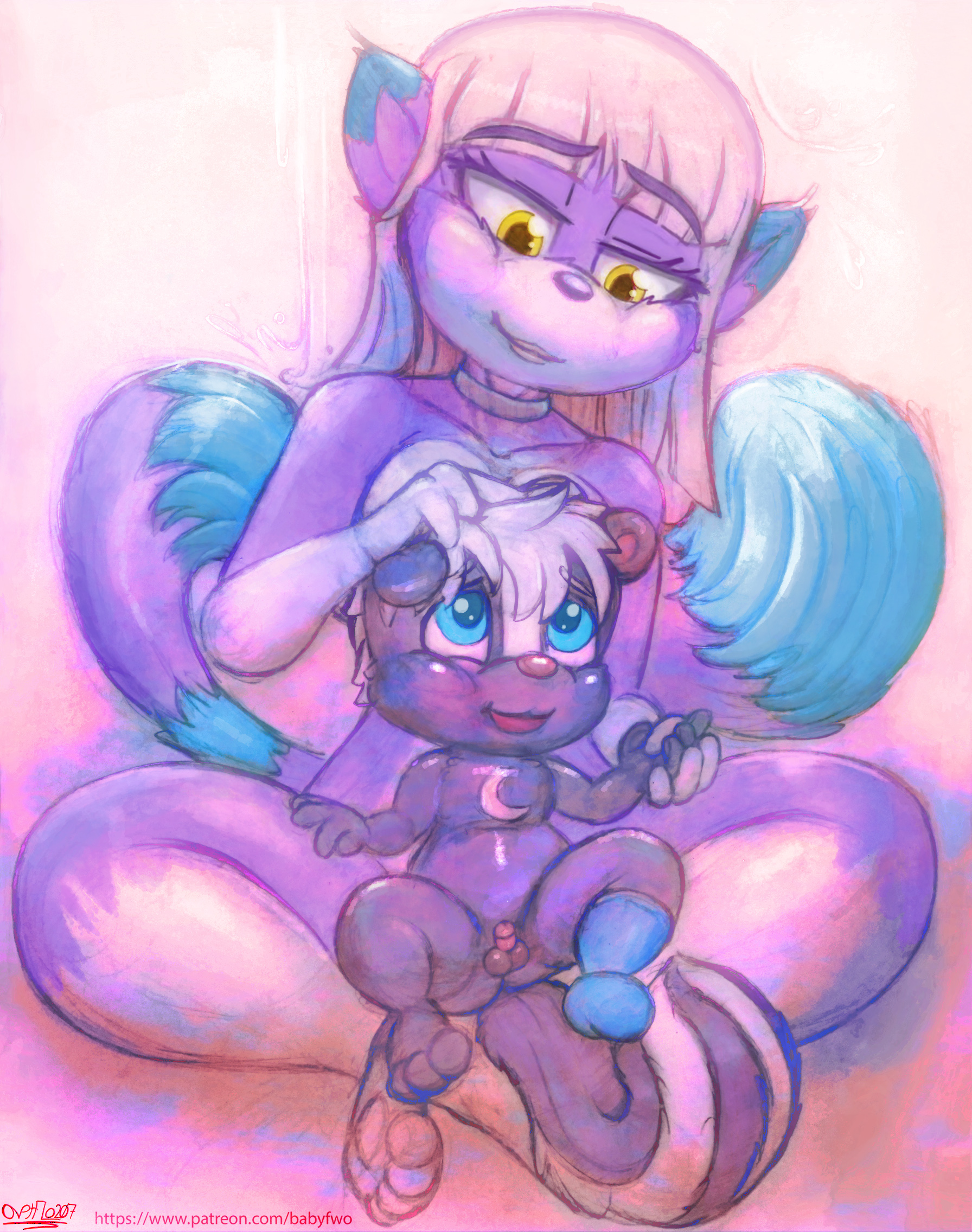 3418542_OverFlo207_ozzie_-_momma_luna_and_her_cub_nude_-_eye_edited_version_
